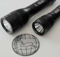 Underwater backup lamps